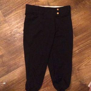 Bottoms - 8-10 years old Black baseball practice pants.